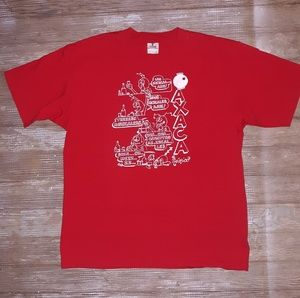 Vintage Mexican Taking Shots T shirt size large